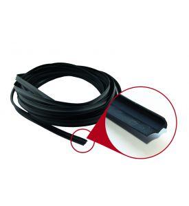 Einfassungsband Schwarz 1-teilig für PP- und PS- Profile