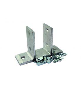 Aluminium-Bodenbefestigung für PL-Profile