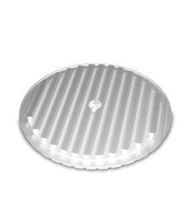 T-Nuten-Teller, PT 25, Ø 350 mm, Alu-eloxiert