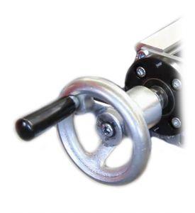 Alu-Handrad 80 mm passend für LES 4, LES 6 und LES 5