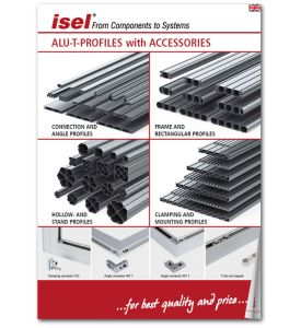 "Partial catalogue ""Aluminium T-Profiles with accessories"" as PDF file"