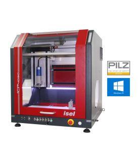 CNC Fräsmachine ICP 4030 mit geschlossener Haube