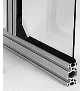Einfassungsband Schwarz 1-teilig für PU- Profile