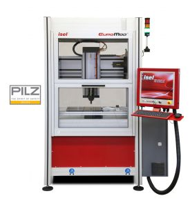 Euromod®-MP 65 CNC milling machine with closed door