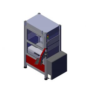 Euromod®-MP 30 LES CNC-Milling Machine closed door