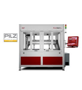 CNC-Milling Machine FlatCom series L 150 standard with closed doors
