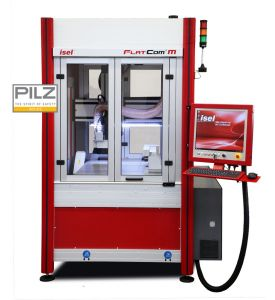 CNC machine FlatCom M with signal additional options