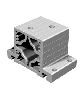 Lagerbock 2 - Ausführung für Kugelgewindespindel Ø25mm