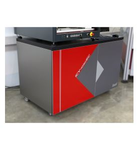 Machine table ICV 4030 as option, with closed doors