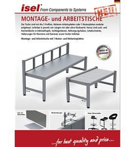 """Partial catalogue """"Assembly and Working Tables"""""""
