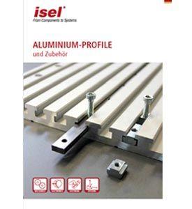 """Teilkatalog """"Aluminium Profile und Zubehör"""" als PDF-Datei"""