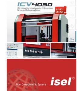 """Produktflyer CNC Maschine """"ICV 4030"""" als PDF-Datei"""