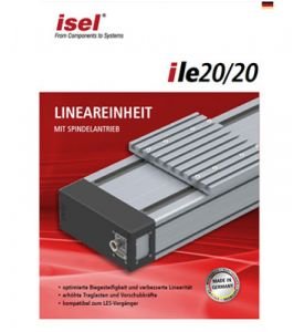 "Partial catalogue ""Linear Units iLE 20/20"" as PDF file"