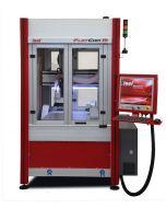 CNC-Fräsmaschine FlatCom M 20 mit geöffneter Tür