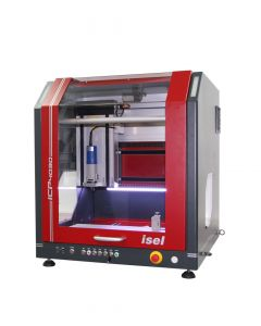 CNC milling machine ICP 4030 with closed hood