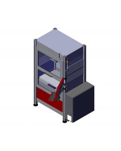 EuroMod CNC-Fräsmaschine MP30 geschlossene Tür