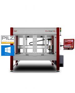 CNC Fräsmaschine FlatCom XL Serie 142/112 mit geschlossener Tür