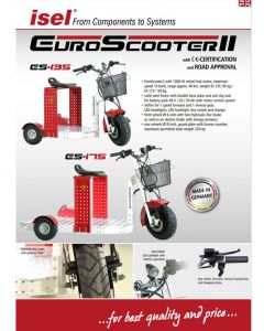 Product brochure EUROSCOOTER-II ES 135 / ES 175