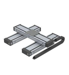 Linear unit iLE20-20-2 - direct drive - double sided- 2 x PT25x75 L=200