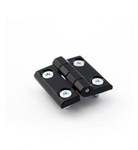 Aluminium-Scharnierband für alle Profile - ausser PT und RE, VE = 2 Stück