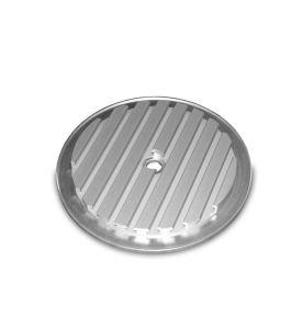 T-slot plate, PT 25, Ø 250 mm, aluminum anodized