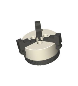 3-jaw chuck for RDH-XS