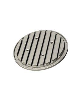 Aluminium-T-groove plates Ø 240 & Ø 365 mm