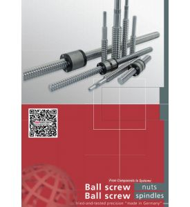"Product brochure ""Ball Screw Nuts and Spindles""  as PDF file"