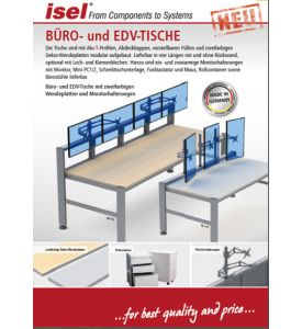 "Partial catalogue ""Office and IT Tables"" as PDF file"