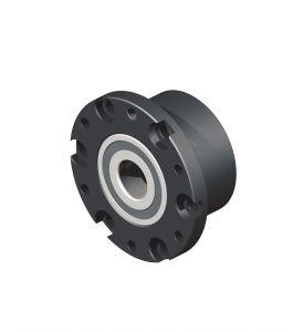 Flange bearing, drive side for spindle Ø 25 mm