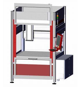 CNC milling machine OverHead Gantry M30 with open door