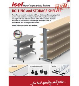 """Partial catalogue """"Rolling and Storage Shelves"""" as PDF file"""