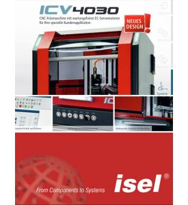 "Brochure machine ""ICV 4030"""