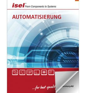 "Blätterkatalog isel -  Gesamtkatalog ""Automatisierung"" der isel Germany AG"