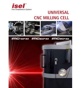 """Product brochure Universell CNC Milling Cell """"IMG"""""""