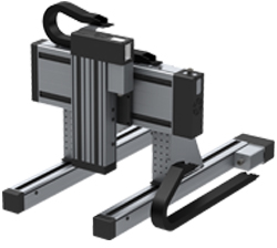 Lineareinheiten 3-Achs-Flachbettanordnung