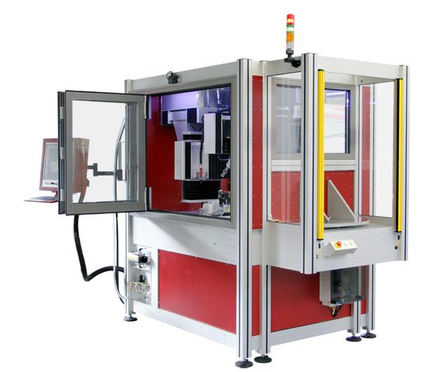 Sondermaschine zur Herstellung von Kugelgewindemuttern