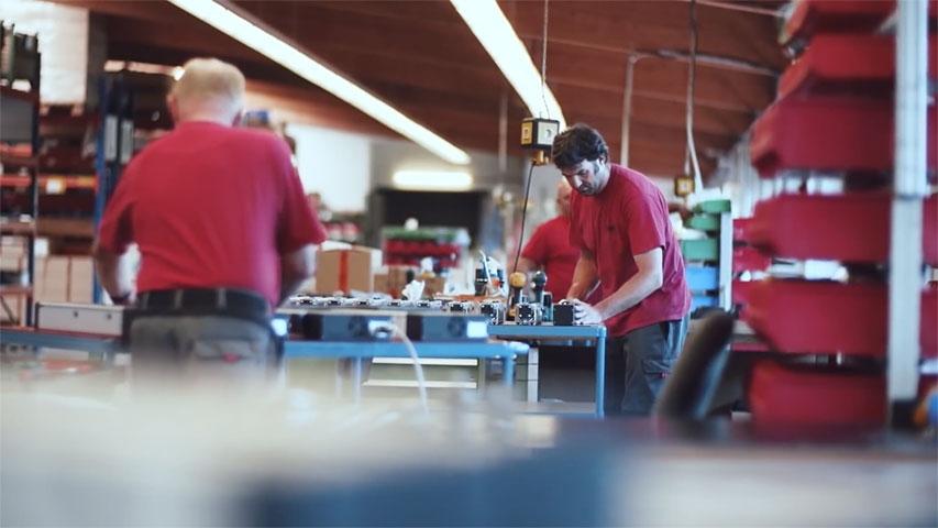 Fertigung Eichenzell - Hier werden unter anderem die bewährten isel Antriebselemente hergestellt
