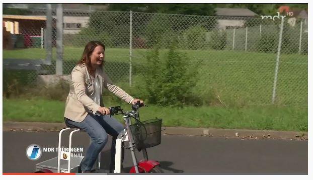 Der EuroScooter im MDR Thüringen Journal