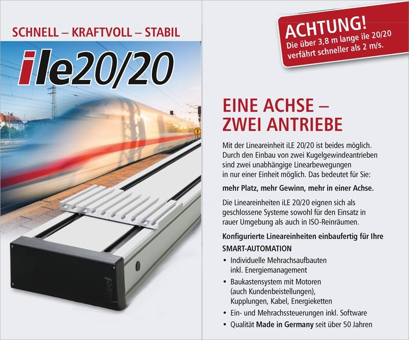 ile 2020 Schnell - Kraftvoll - Stabil