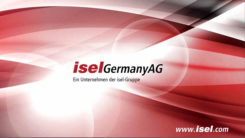Präsentation isel Germany AG