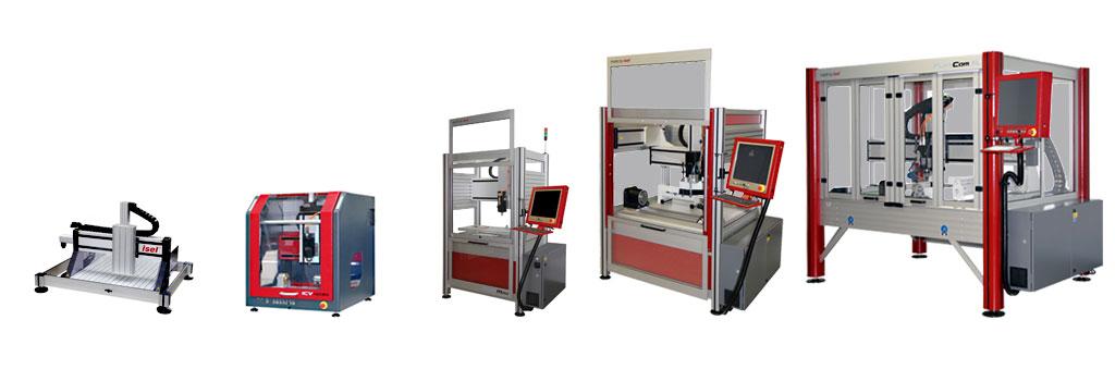 isel CNC Routers - CNC Machines - CNC Milling Machines