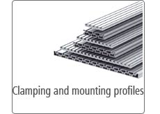 Clamping and mounting profiles