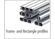 Frame- and Rectangle profiles