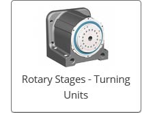 isel Rotary Stages and Turning Units