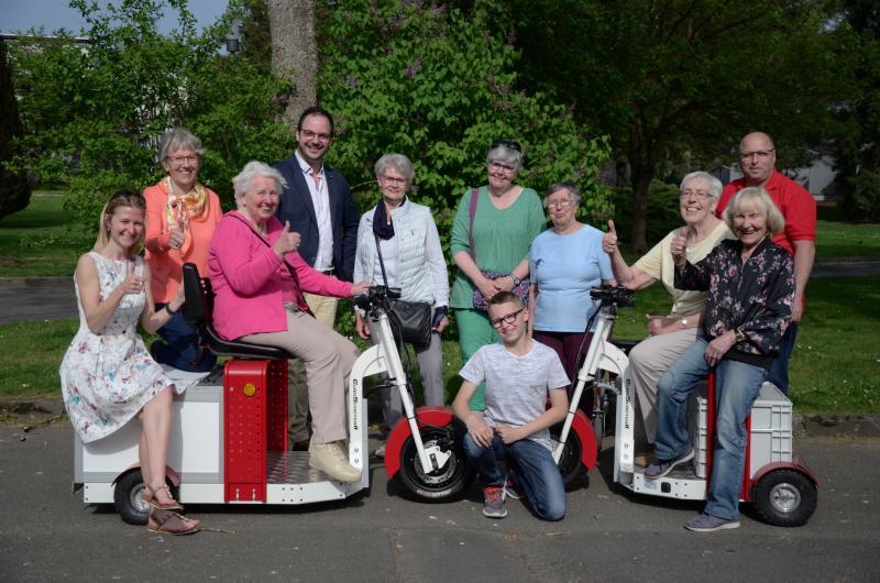 EuroScooter II auf dem Hessentag in Bad Hersfeld