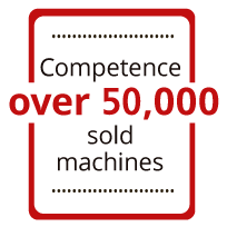 50.000 sold machines