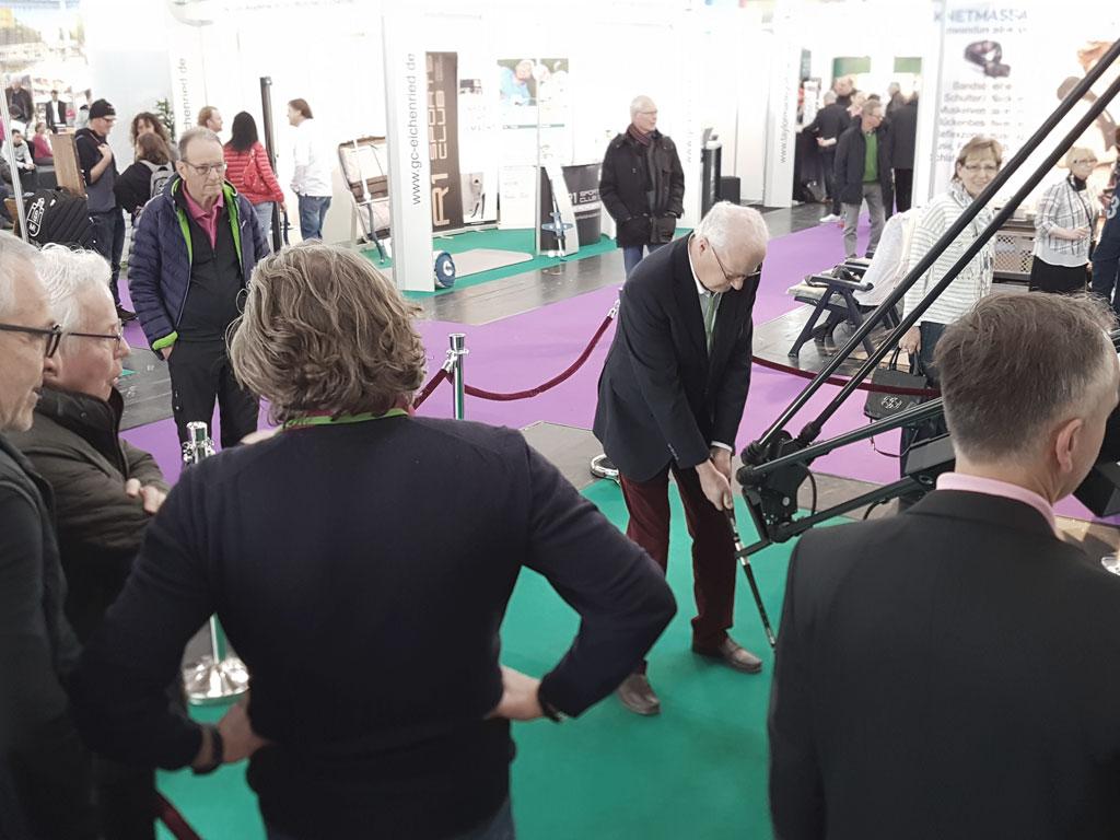 Golftage München 2017 - Golfroboter