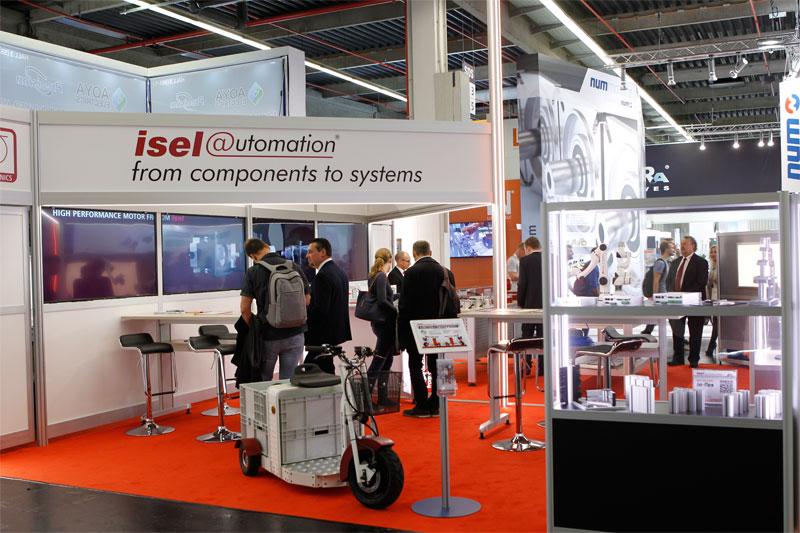 isel GmbH & Co. KG at the SPS Exhibition
