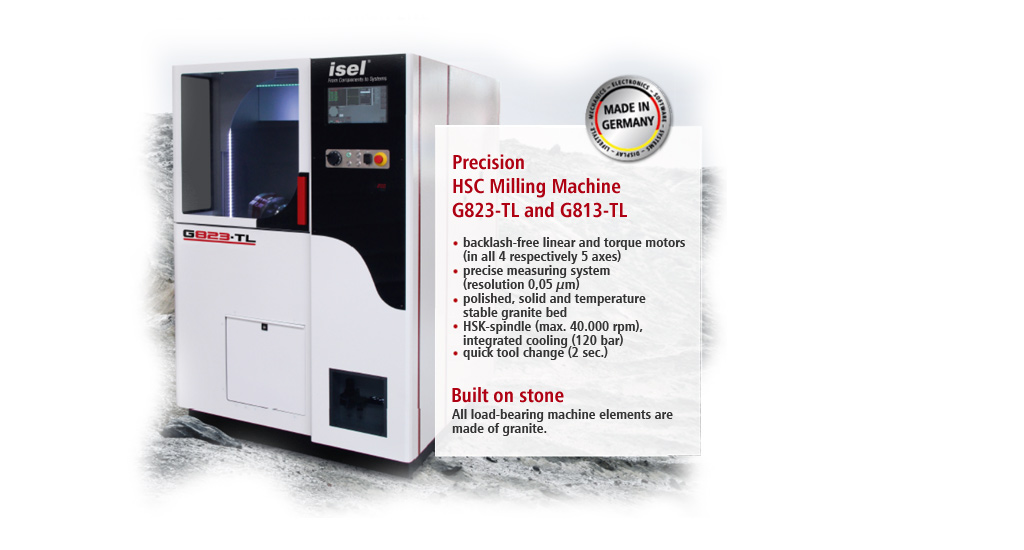 Experience the new way of HIGH END MILLING from isel: